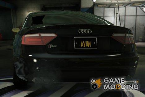 Русскоязычные номерные знаки v.1.0 for GTA 5