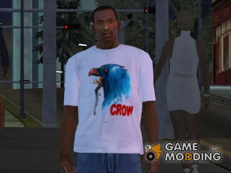 CROW T-Shirt for GTA San Andreas