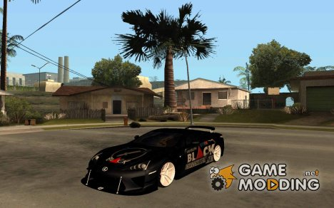 Lexus LFA Street Edition Djarum Black для GTA San Andreas