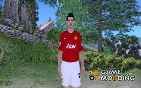 Robin Van Persie [Manchester United] for GTA San Andreas