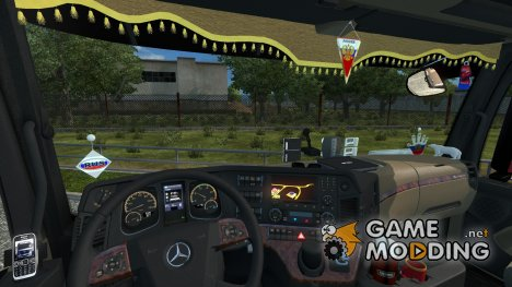 Интерьер для Mercedez-Benz Actroz MP 4 for Euro Truck Simulator 2
