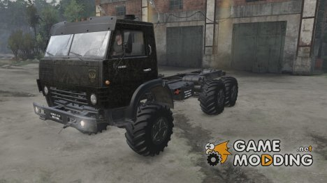 КамАЗ 4310 Military for Spintires 2014
