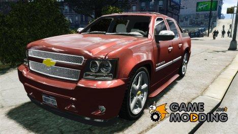 Chevrolet Avalanche v1.0 for GTA 4
