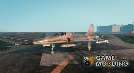 Northrop F-5E Tiger II USA for GTA 5