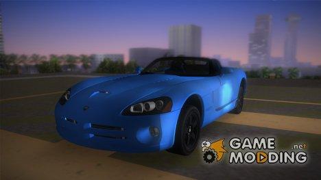 Dodge Viper SRT-10 Roadster TT Black Revel for GTA Vice City