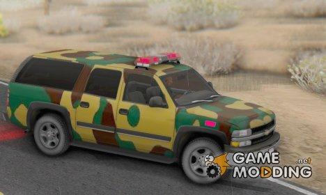 Chevrolet Suburban 2006 Camo для GTA San Andreas