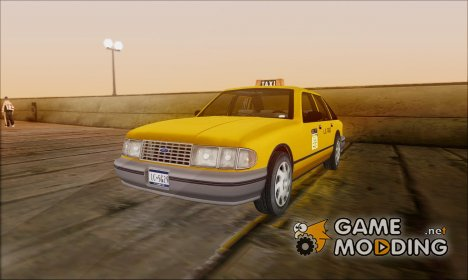 Taxi HD for GTA San Andreas