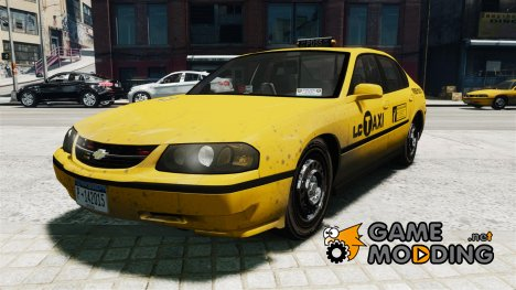 Chevrolet Impala 2003 Taxi for GTA 4