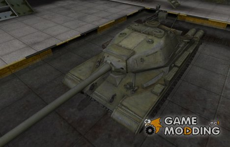 Зона пробития для ИС-4 for World of Tanks