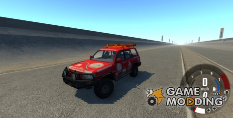 Toyota Land Cruiser 100 for BeamNG.Drive
