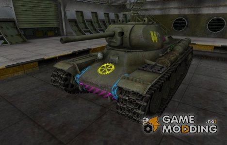 Качественные зоны пробития для КВ-13 для World of Tanks