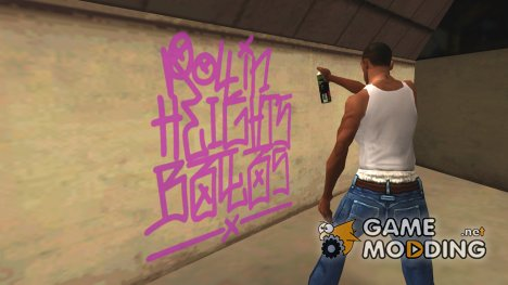 Remastered Vanilla Graffiti HQ для GTA San Andreas