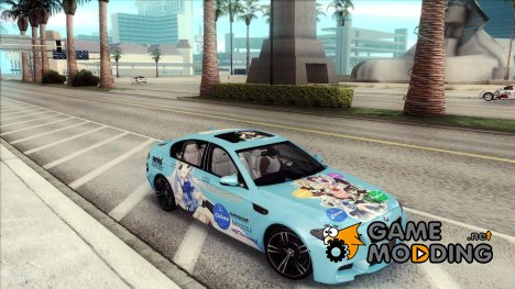 BMW M5 - Gochiusa Itasha for GTA San Andreas