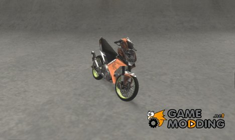 Yamaha Jupiter MX 135 Roadrace для GTA San Andreas