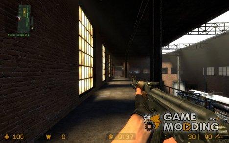 Kalashnikov AK-47 [TK Anims] для Counter-Strike Source