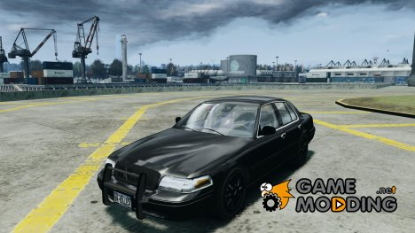 Ford Crown Victoria 2003 v2 FBI для GTA 4