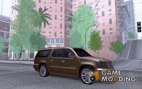 Cadillac Escalade ESV 2012 для GTA San Andreas