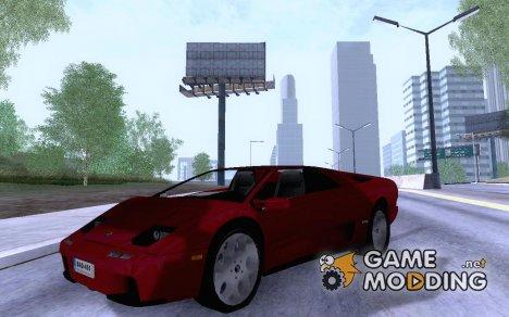 Lamborghini Diablo VT6 для GTA San Andreas
