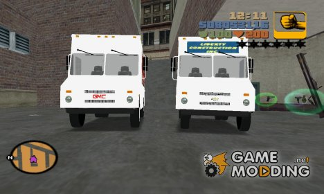 Chevrolet/GMC Step Van для GTA 3