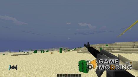 3d guns для Minecraft
