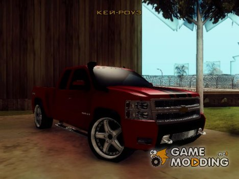 Chevrolet Silverado Tuning for GTA San Andreas