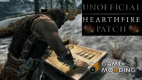 Unofficial Hearthfire Patch 2.0.9 для TES V Skyrim