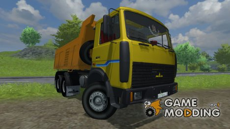 МАЗ 551605 v2.0 for Farming Simulator 2013
