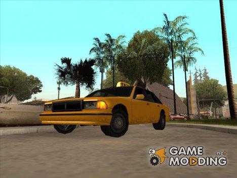 Taxi адаптированное к моду IVF для GTA San Andreas