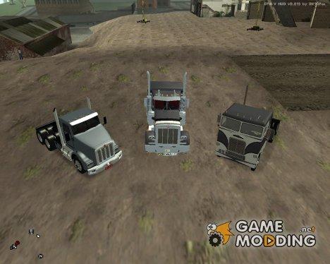 Пак дальнобойщика №2 for GTA San Andreas