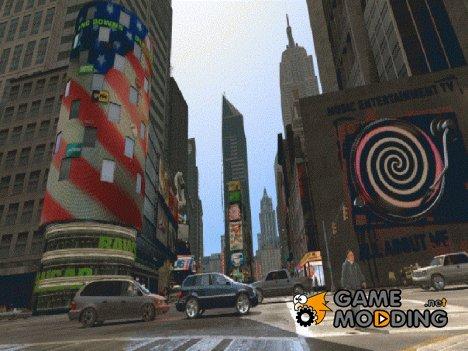 Восхитительная погода Liberty City for GTA 4