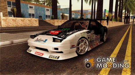 Nissan 240SX Monster Energy для GTA San Andreas
