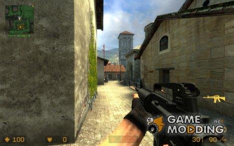 Evil_Ice M4 v2 для Counter-Strike Source