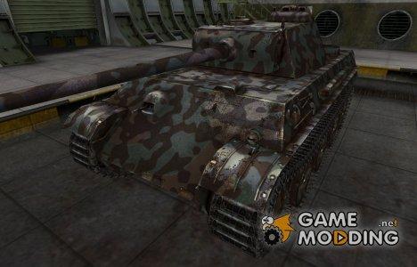 Горный камуфляж для PzKpfw V Panther for World of Tanks