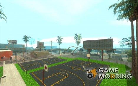 HQ Баскетбольная площадка for GTA San Andreas