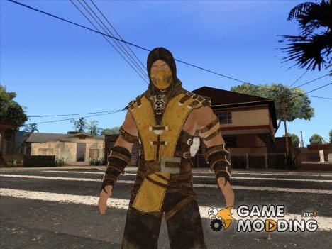 Scoprion from Mortal Kombat X для GTA San Andreas