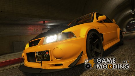 Mitsubishi Lancer Evo VI GSR v1.0 for GTA 5