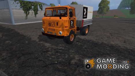 IFA W50 Service для Farming Simulator 2015