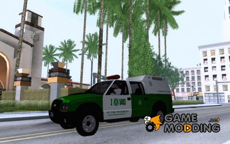Chevrolet S10 De Carabineros De Chile for GTA San Andreas