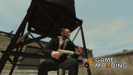 Пистолет AMT Hardballer Longslide for GTA 4