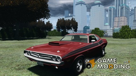 Dodge Challenger 1971 RT для GTA 4