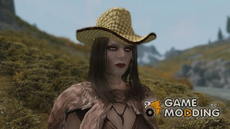 Straw hat for TES V Skyrim