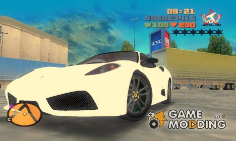 Ferrari F430 Scuderia TT Black Revel for GTA 3