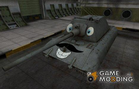 Забавный скин E-100 для World of Tanks