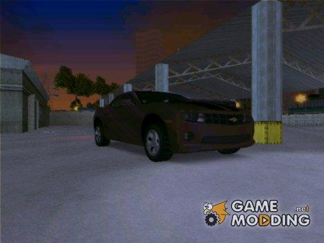 Chevloret Camaro 2010 для GTA 3