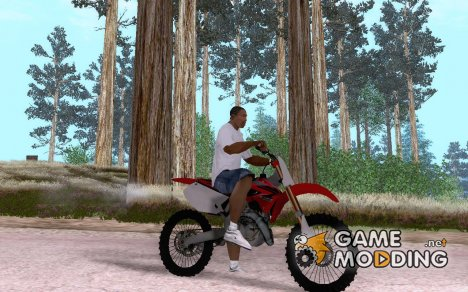 Honda CRF250R v2 for GTA San Andreas