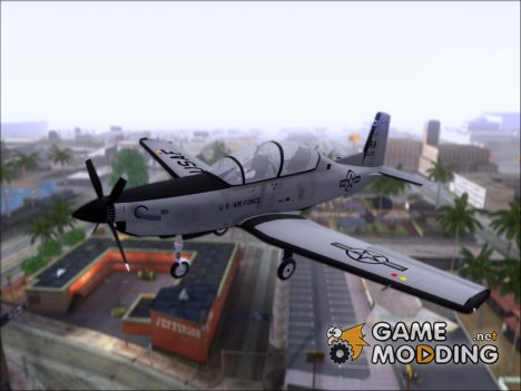 Beechcraft T-6 Texan II для GTA San Andreas