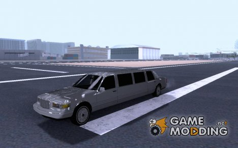 1997 Lincoln Town Car Limousine для GTA San Andreas