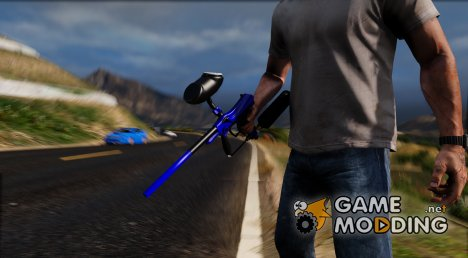PaintBall Gun для GTA 5