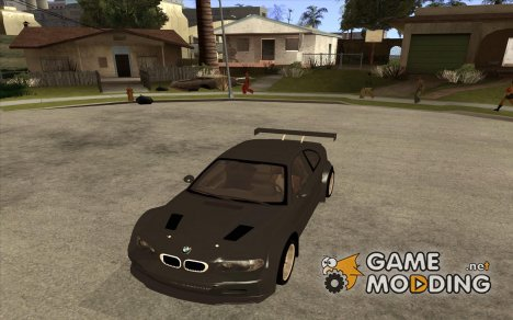 BMW E46 M3 GTR - Stock for GTA San Andreas