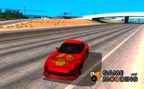 Mazda RX-7 - FnF2 для GTA San Andreas